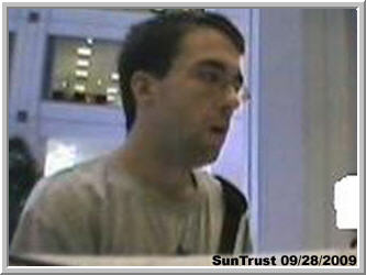 SunTrust Bank Robber